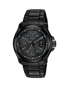 Drive from Citizen Eco-Drive Men's Drive From Citizen Eco-Drive Black Ion Plated Stainless Steel Watch