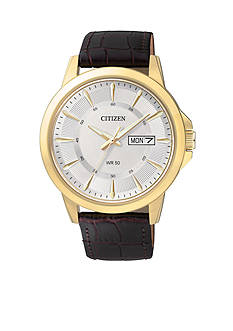 Citizen EDV Men's Quartz Gold-Tone Stainless Steel Watch