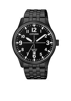 Citizen Men's Black Tone Quartz Watch
