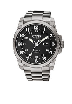 Citizen Eco-Drive Super Titanium Shock Resistant Watch