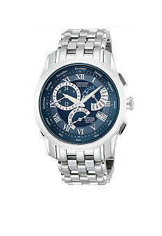 Citizen Eco Drive Round Blue Dial Watch