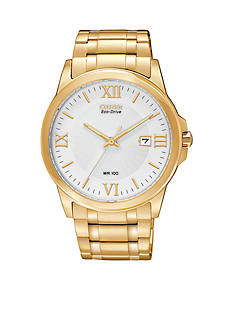 Citizen Eco-Drive Men's Gold-Tone Pairs Watch