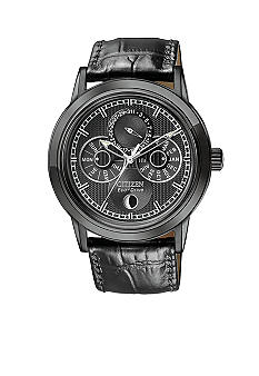 Citizen Eco-Drive Black Ion Plated Calibre 8651 Watch