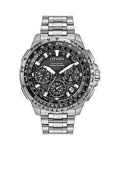 Citizen Men's Satellite Wave-World Time GPS Eco-Drive Watch