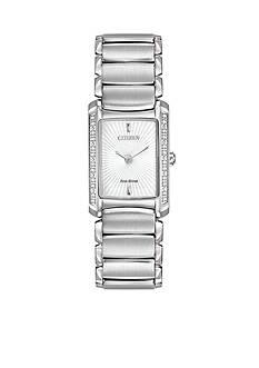Citizen Women's Eco-Drive Stainless Steel Euphoria Diamond Watch