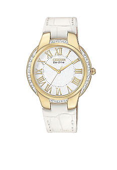 Citizen Eco-Drive Gold Tone Ciena Watch