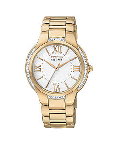 Citizen Eco-Drive Rose Gold Tone Ciena Watch