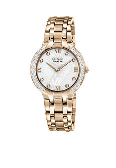 Citizen Eco-Drive Ladies' Rose Gold Tone Bella Watch