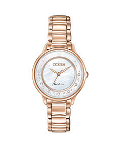 Citizen Women's Eco-Drive Circle of Time Diamond Watch
