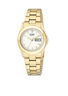 Citizen EDV Quartz Women's Gold Tone Watch