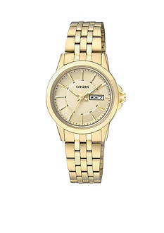 Citizen EDV Women's Quartz Gold Tone Watch