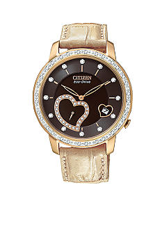Citizen Eco-Drive Rose Gold Tone Desire Watch