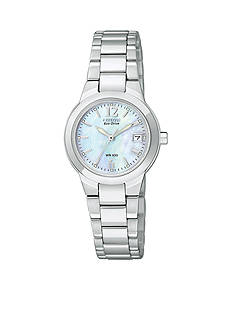 Citizen Eco-Drive Ladies' Silhouette with Mother of Pearl Dial - Online Only