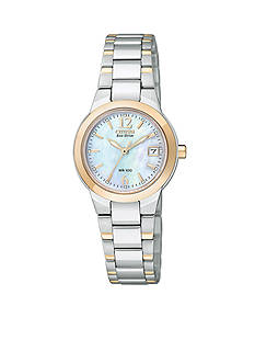 Citizen Eco-Drive Women's Silhouette with Mother of Pearl Watch
