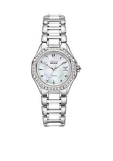Citizen Eco-Drive Signature Ceramic with Diamonds Women's Watch - Online Only
