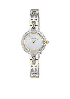 Citizen Eco-Drive Women's Silhouette with Swarovski® Crystal Bezel Watch