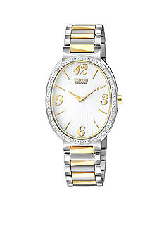 Citizen Ladies' Eco-Drive Allura with Diamond Bezel