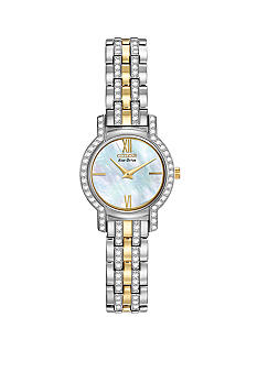 Citizen Eco-Drive Silhouette Crystal Watch