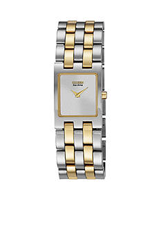 Citizen Eco-Drive Women's Two Tone Jolie Watch - Online Only