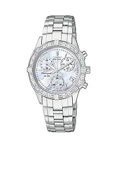 Citizen Ladies Eco Drive Chronograph 28 Dial