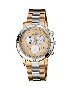 Drive from Citizen Eco-Drive Women's AML Two Tone Stainless Steel Chronograph Watch