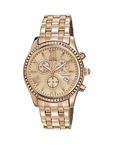 Drive from Citizen Eco-Drive Women's Rose Gold Tone Chronograph Watch