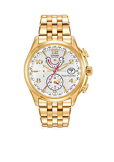 Citizen Women's Eco-Drive Gold-Tone Stainless Steel Watch