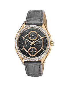 Citizen Ladies' Drive Rose Gold Tone Strap Watch