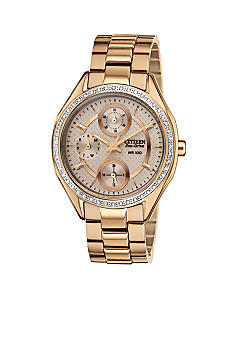 Citizen Ladies' Drive Rose Gold Tone Watch