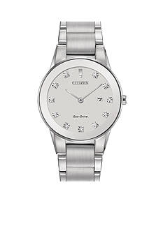 Citizen Eco-Drive Women's Silver-Tone Axiom Watch