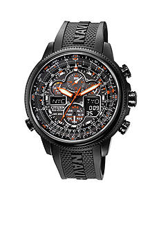 Citizen Eco-Drive Men's Navihawk A-T Chronograph Strap Watch