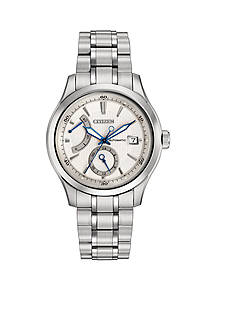 Citizen Men's Grand Classic Signature White Dial Watch