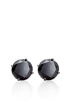 2.00 ct. t.w. Black Diamond Stud Earrings