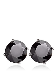 Belk & Co. 3.00 ct. t.w. Black Diamond Stud Earrings