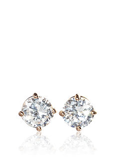 Belk & Co. 14k Yellow Gold 1/2 ct. t.w. Cubic Zirconia Earrings