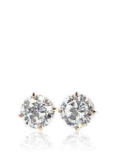 Belk & Co. 14k Yellow Gold 1-1/2 ct. t.w. Cubic Zirconia Earrings