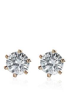 Belk & Co. 1/3 ct. t.w. Diamond Stud Earrings in 14k Yellow Gold
