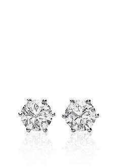 Belk & Co. 1.00 ct. t.w. Diamond Stud Earrings in 14k White Gold