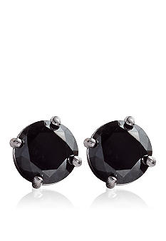 Belk & Co. 1 1/4 ct. t.w. Black Diamond Stud Earrings