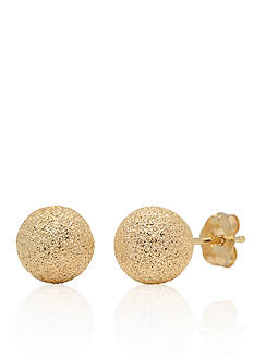 Belk & Co. 14k Yellow Gold Stud Earrings