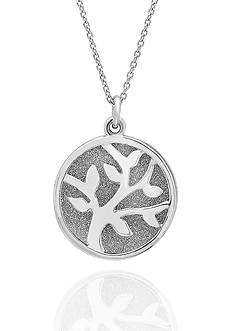 Belk & Co. Sterling Silver Tree Of Life Pendant