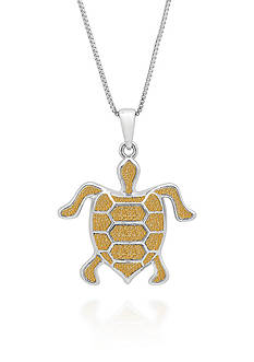 Belk & Co. Sterling Silver Turtle Pendant