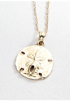 Belk & Co. 14k Sand Dollar Pendant