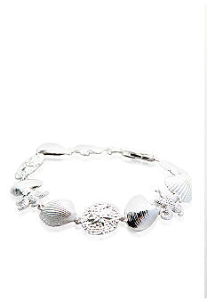 Belk & Co. Sterling Silver Sealife Bracelet
