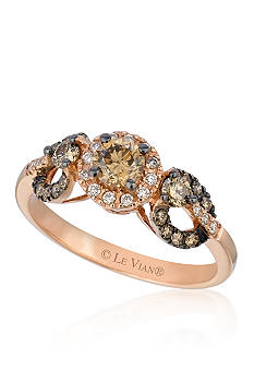 Le Vian Chocolate Diamond Center Stone Ring