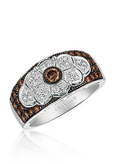 Le Vian Chocolate Diamond Vintage Ring