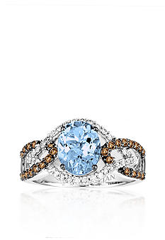 Le Vian® Aquamarine and Diamond Ring