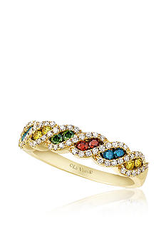 Le Vian Mixberry Diamonds Band in Honey Gold
