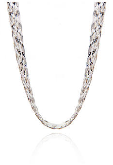 Belk & Co. Sterling Silver Braided Herringbone Chain