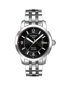 Tissot Black Quartz Stainless Steel Watch